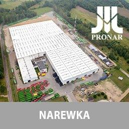 Otwarcie nowej hali Pronar w Narewce