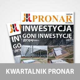 Nowy Kwartalnik firmy Pronar