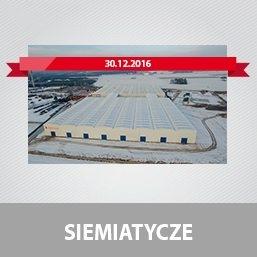 Otwarcie nowej fabryki Pronar w Siemiatyczach